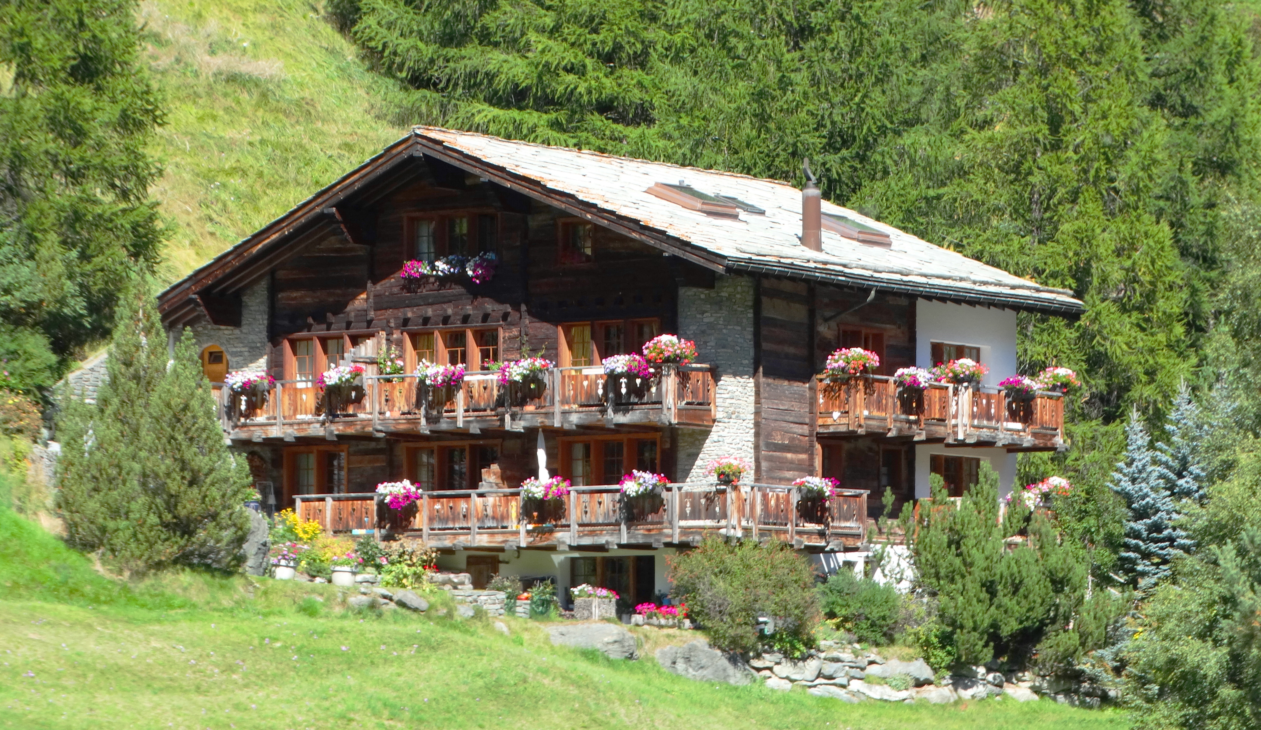 Inside out the traditional swiss chalet for Swiss homes